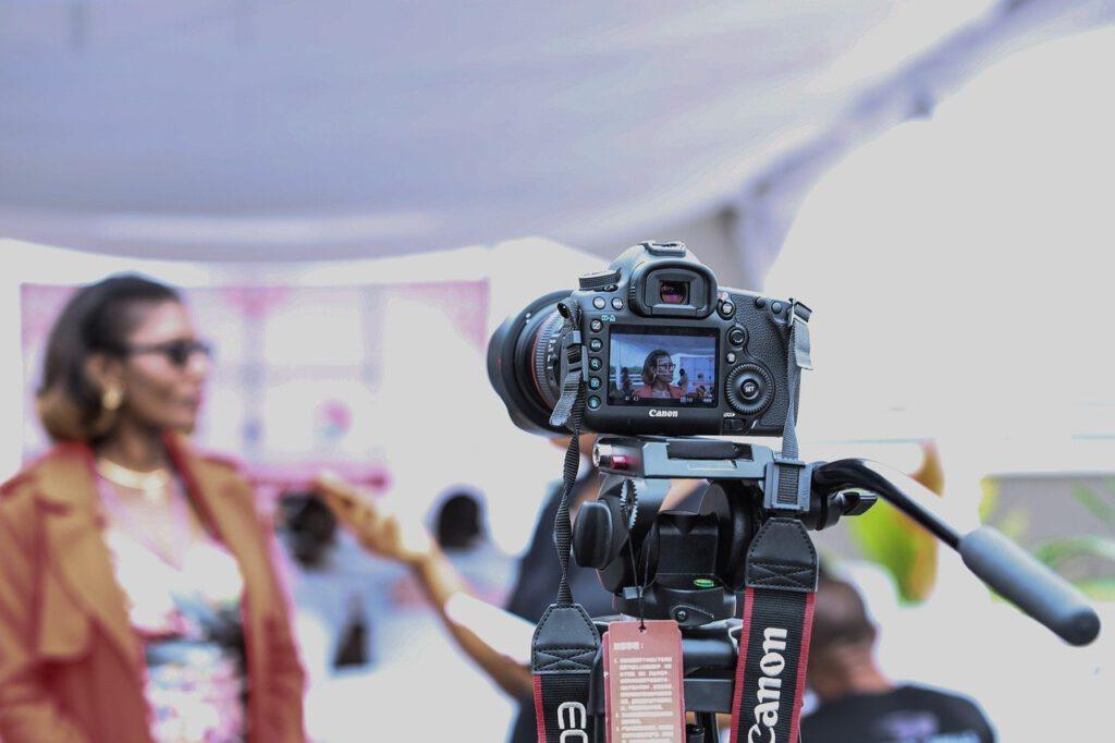 Kamera zur Erstellung Exposé Immohouse